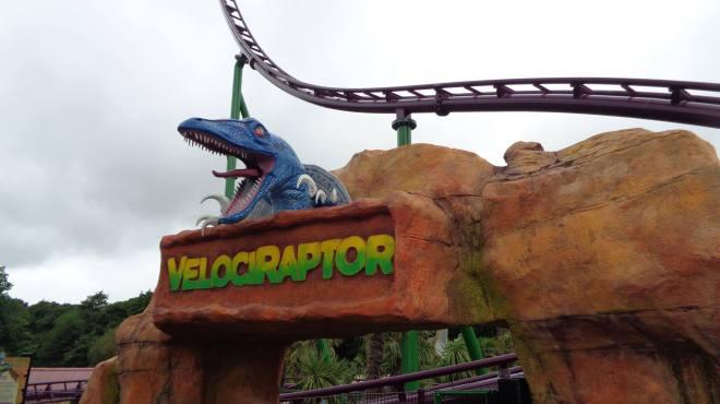Family Boomerang Rebound Velociraptor Paultons Park Flex