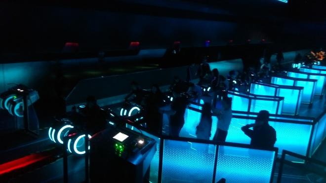 TRON Lightcycles Power Run Loading Area (1)