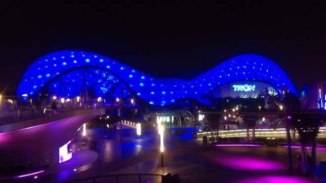 Tron Lightcycles Power Run Shanghai Disneyland (12)