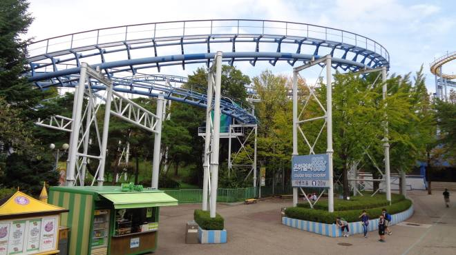 Colombia Double Loop Coaster Seoul Land Flex