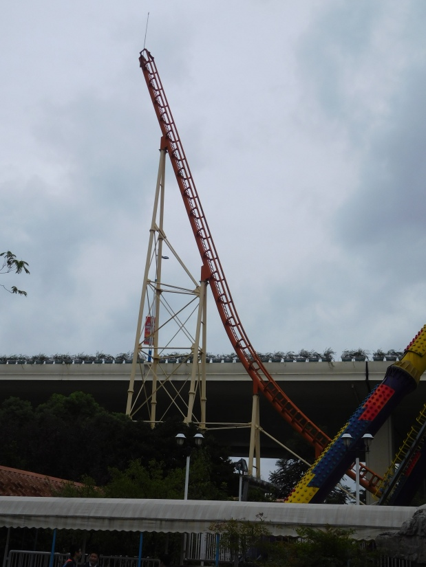 How steep is it? Part 1 of our look at Record Breaking Steepest Roller Coasters