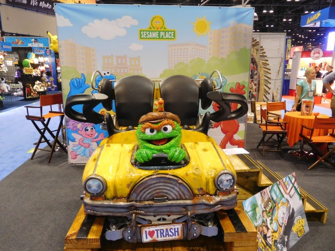 Oscar Wacky Taxi Sesame Place Gravity Group (3)