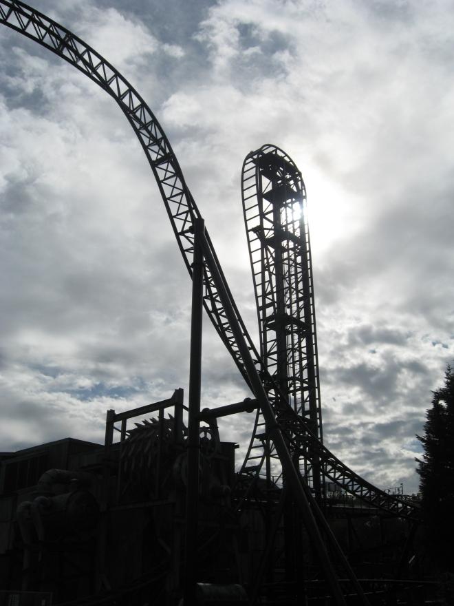 Saw The Ride Thorpe Park (3)