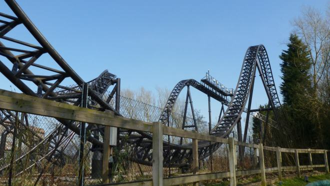 Saw the Ride Thorpe Park 6