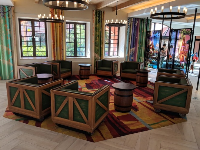 Disney Celebration Discover lobby seats