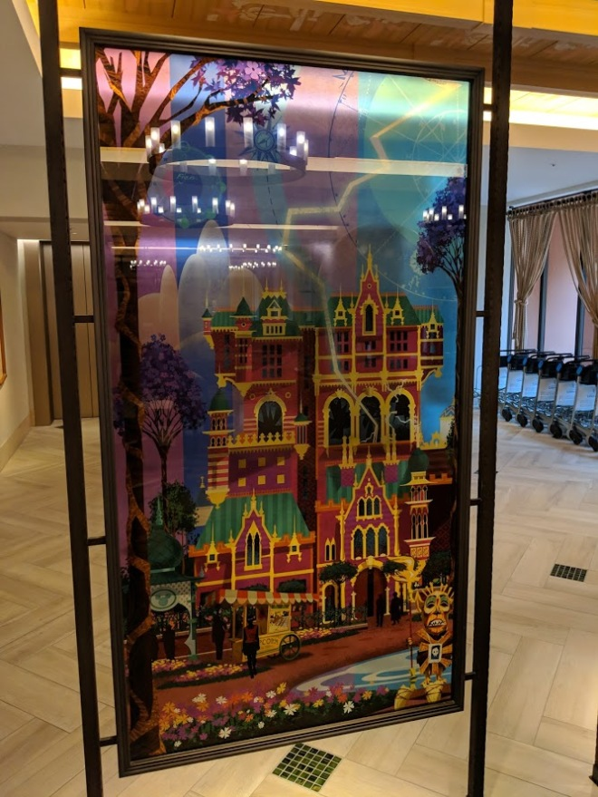 Disney Celebration Discover lobby TOT poster