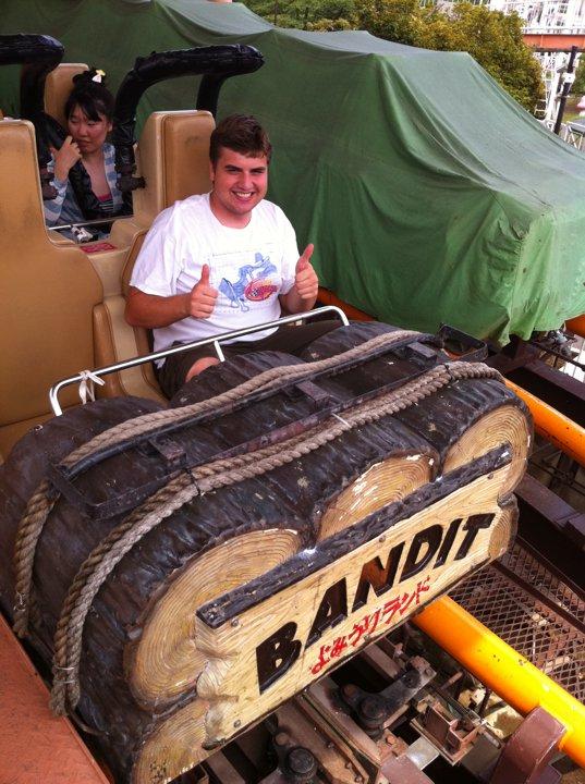 Bandit Train Theme Park Review 2
