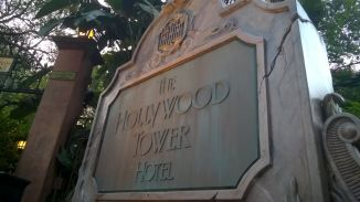 Tower of Terror sign
