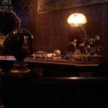 The beautiful desk.