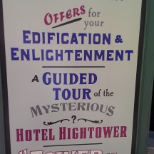 Hotel Hightower mysteries (4)