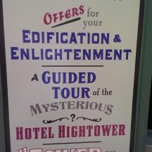 Hotel Hightower mysteries (4)