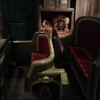 Mystic Manor ride vehicles