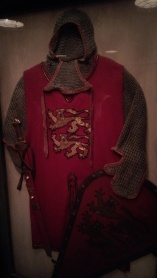 One of the armor in the loading room.