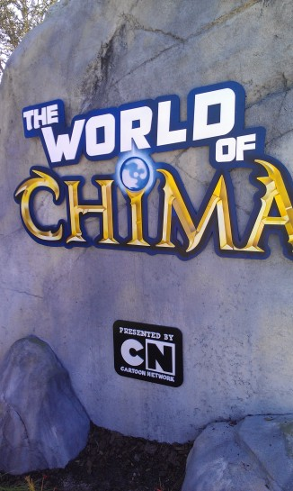 World of Chima entrance sign.