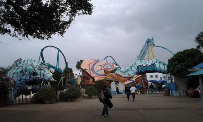 Kraken SeaWorld Orlando 9