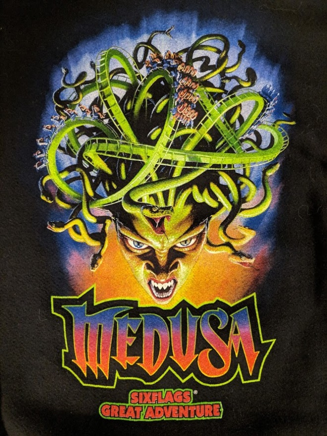Medusa Six Flags Great Adventure logo