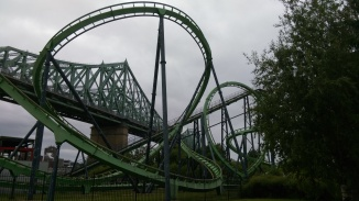 The Helix on the Cobra at La Ronde.