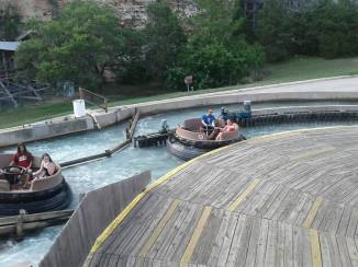 The Gully Washer opened in 1992 and is an Intamin River Rapids 9.