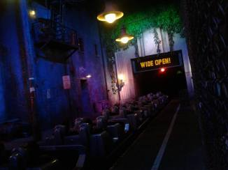 Rock n Roller Coaster launch area