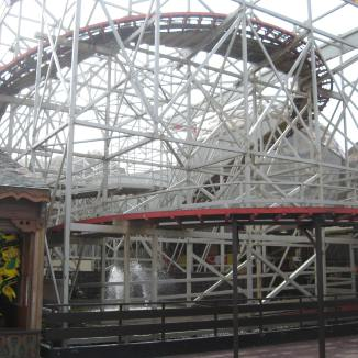 Wild Mouse at the Pleasure Beach.