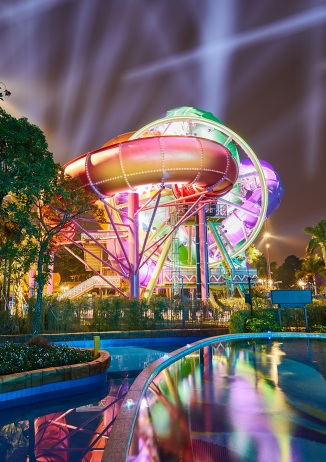 SlideWheel at Chimelong Water Park.