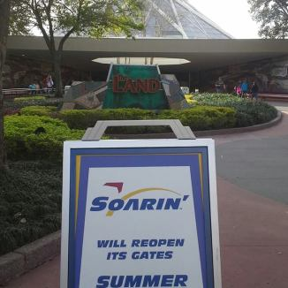 Soarin' at Epcot is inside the Land Pavilion.