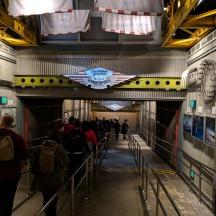 Soarin Around the World indoor queue at Disney's California Adventure