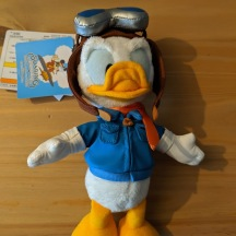 Donald Duck as a pilot for Soaring Fantastic Flight