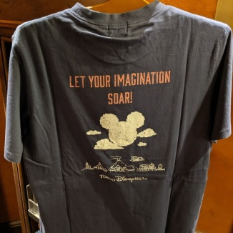 Back of the Soaring Fantastic Flight t-shirt