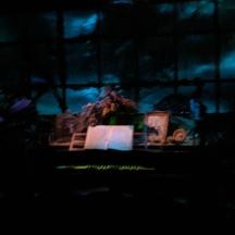 Ghostly organist.