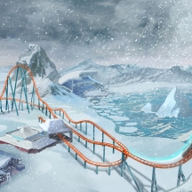 SeaWorld Orlando provided us with this image of the ride layout.