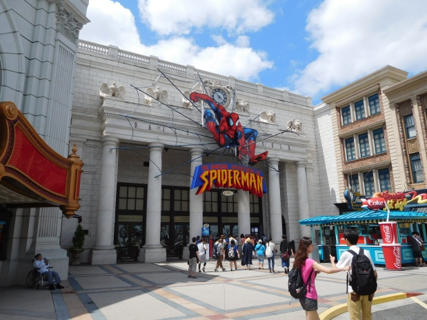 The Adventures of Spiderman in Florida and Japan: Part 13 of our Fire!Serie