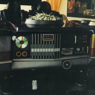 The first public photo of the soundtrack, shown in 2001