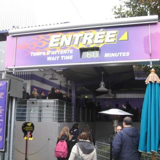 Stand-by queue entrance