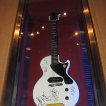 Tour de Force Records guitars on display (6)
