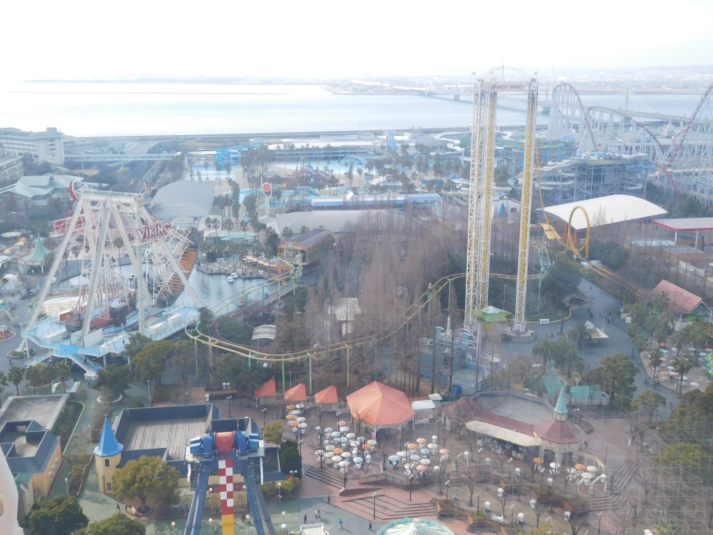 Nagashima Spaland Triple Space Shot seen from above.