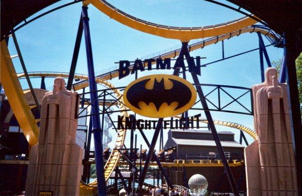 Batman Knight Flight, longest Floorless Coaster in the world : Part 5 of our Floorless CoasterSeries
