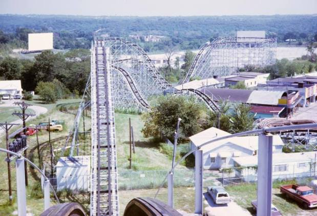 Nine Lives of a Wildcat: the first part of the story of how Frontier City adopted a roller coaster fromMissouri