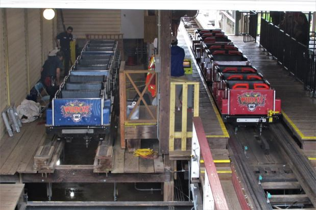Upgrades and new colors for the Wildcat :the third part of the story of how Frontier City adopted a roller coaster fromMissouri